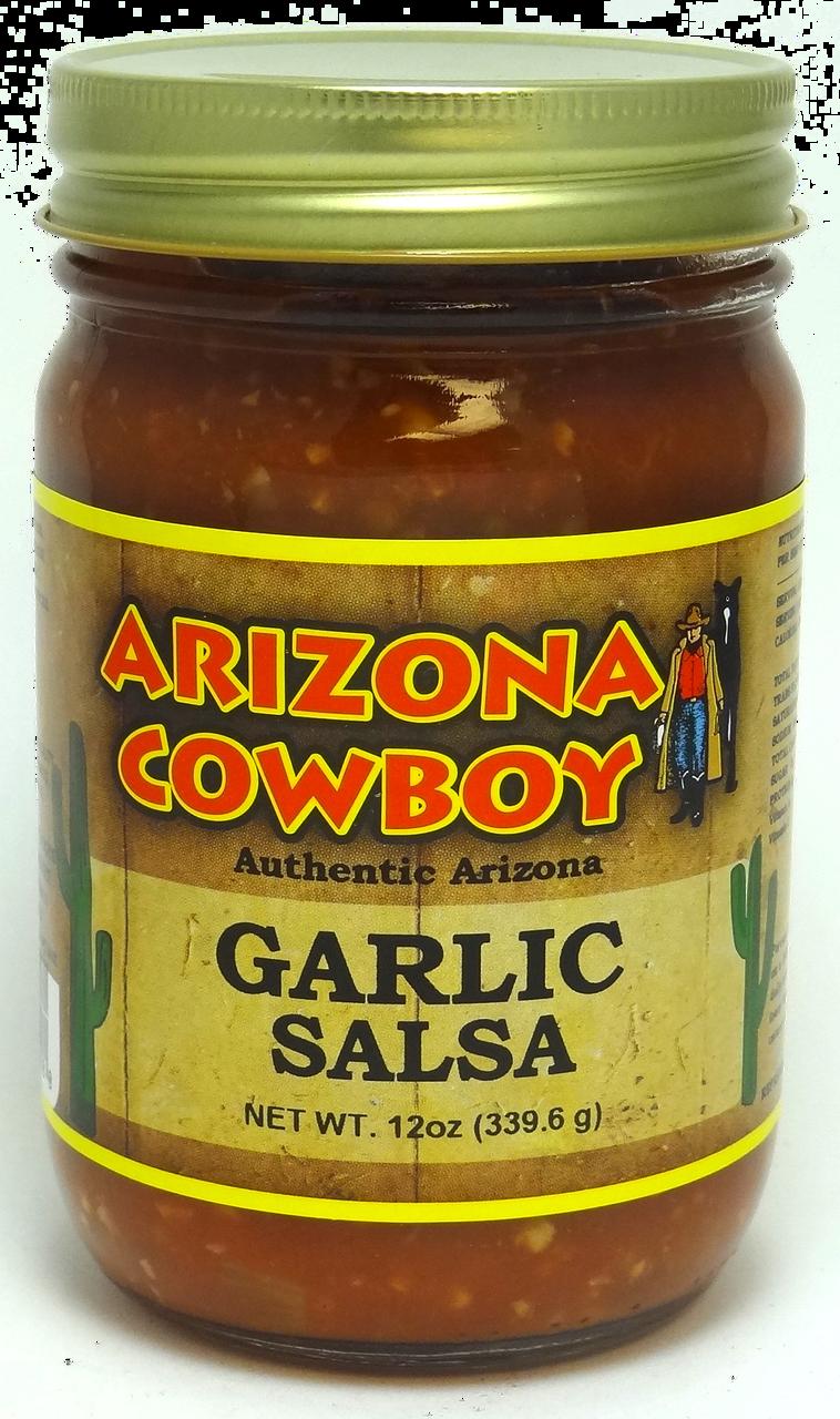 GARLIC Salsa 12oz