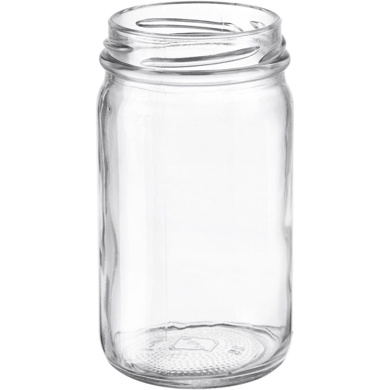8oz Glass Mayo Jar Case
