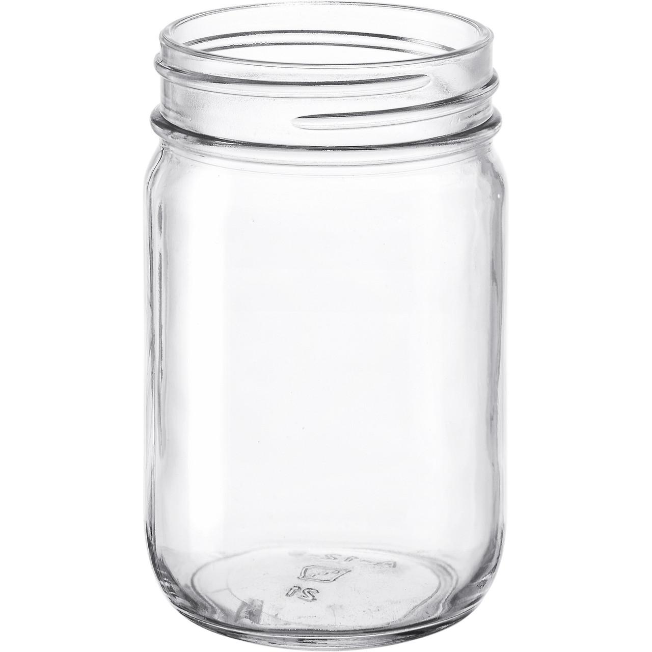 12oz Glass Mayo Jar Case 12/cs