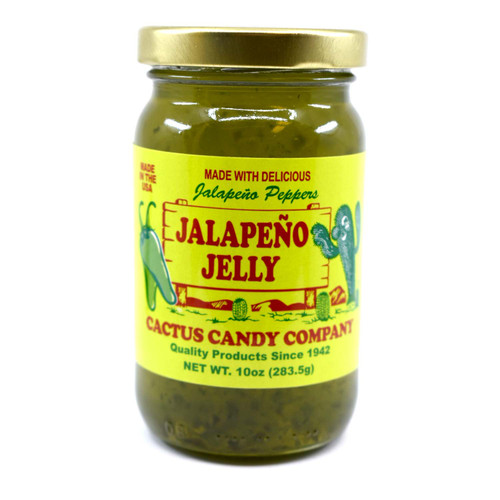 Jalapeno Jelly 10oz Glass Jar