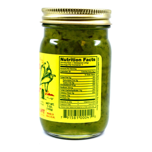 Jalapeno Jelly 5oz Glass Jar