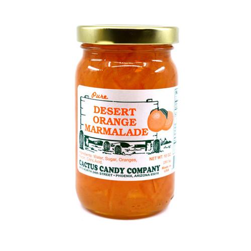 Orange Maramlade 10oz Glass Jar