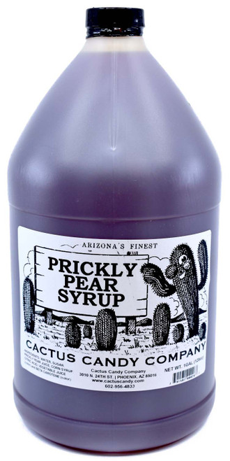 Prickly Pear Syrup 1gal Plastic Bottle