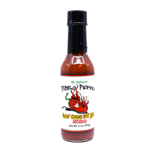 Diablo Pepper CAYENNE Hot Sauce 5oz