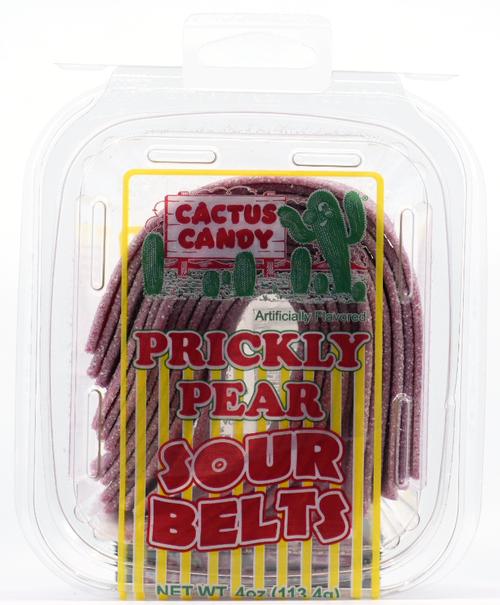 Prickly Pear Sour Belts 4oz