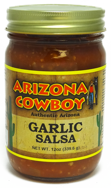 GARLIC Salsa 12oz