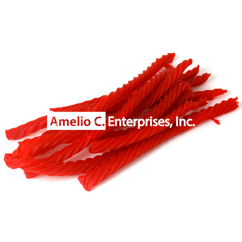 RED ROPES (Red Strawberry Licorice Sticks) per LB