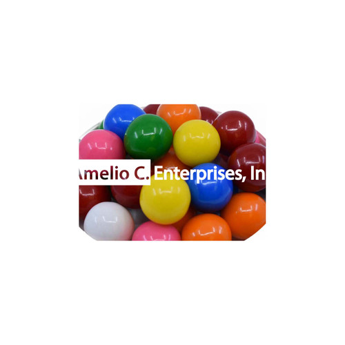 GUMBALLS - 1900 ct  (19mm Assorted Flavors) per LB