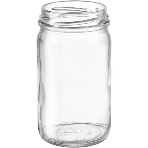 8oz Glass Mayo Jar Case