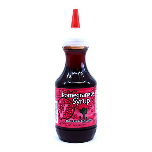 Pomegrante Syrup 8oz Plastic Squeeze Bottle