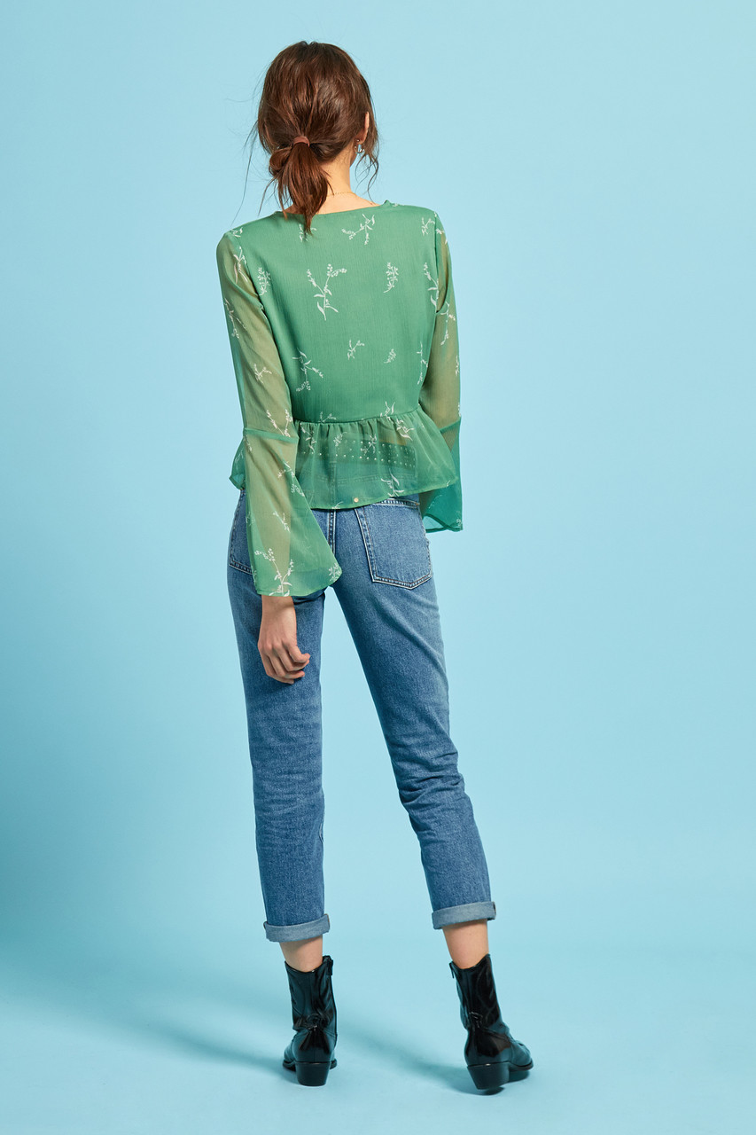 Heather Floral Blouse
