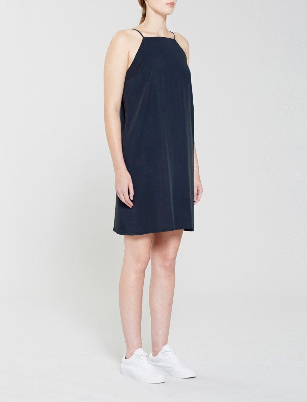 Navy Tencel Slip dress