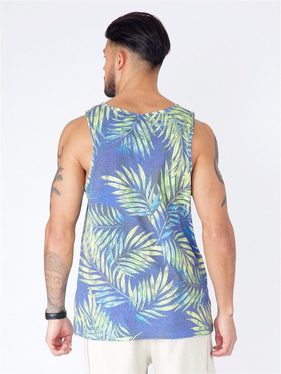 Yellow Sublimation Print Vest