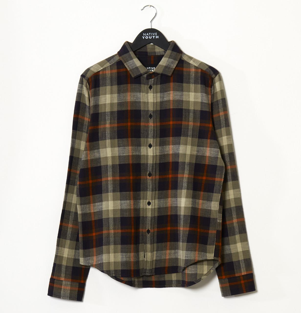 Green Brae Long Sleeve Check Shirt