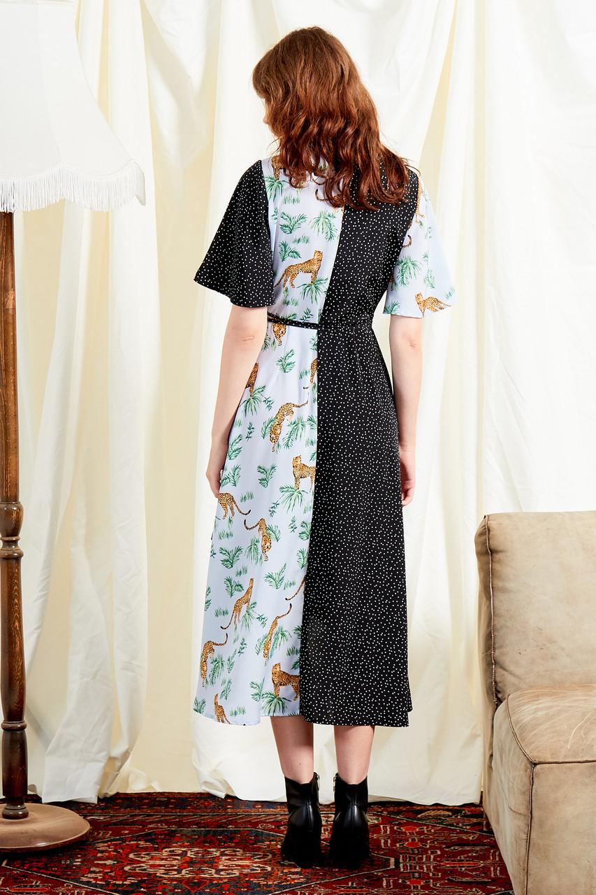Savannah Mix And Match Wrap Dress