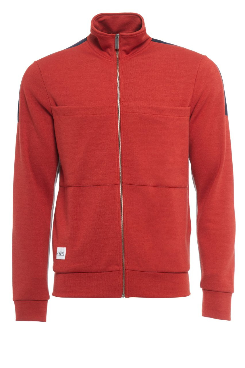 COACH TRACK TOP RUST