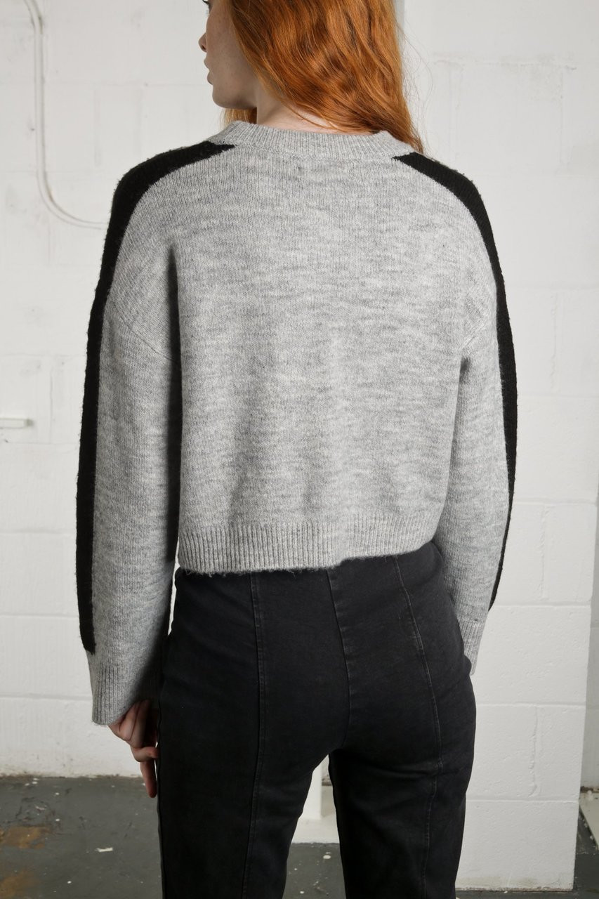 CONCRETE KNIT - GREY