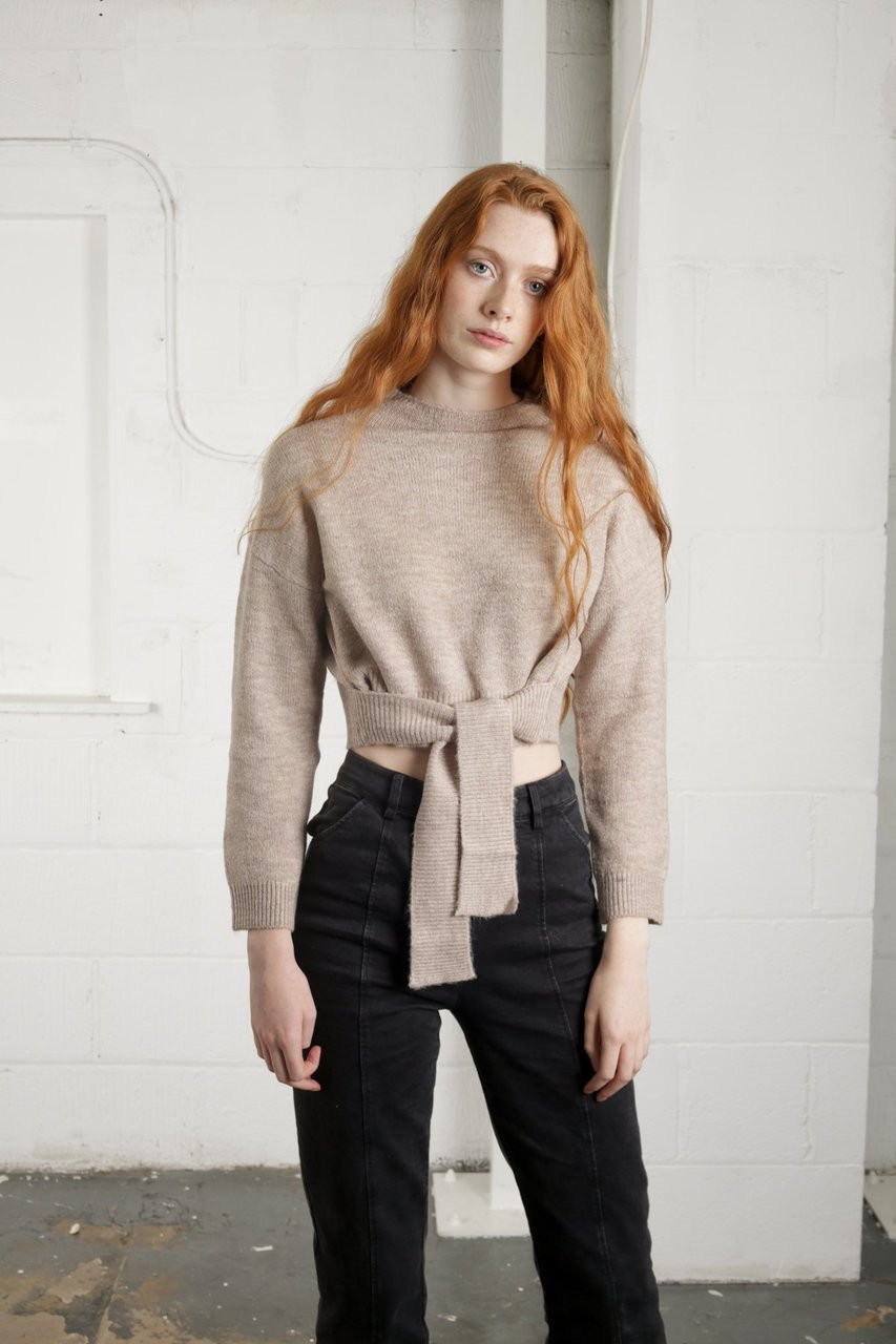 THORESBY KNIT - OATMEAL