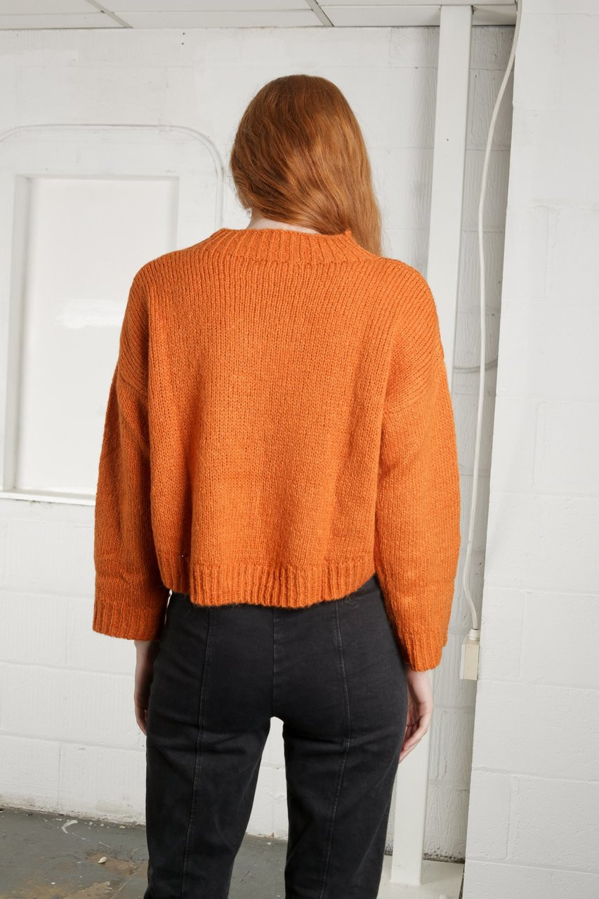 MEDLOCK CROP - ORANGE