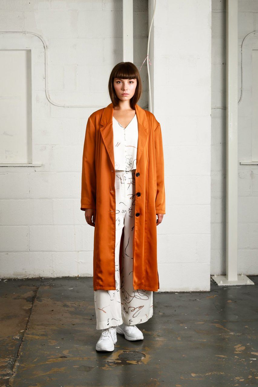 BEAUVALE JACKET - ORANGE