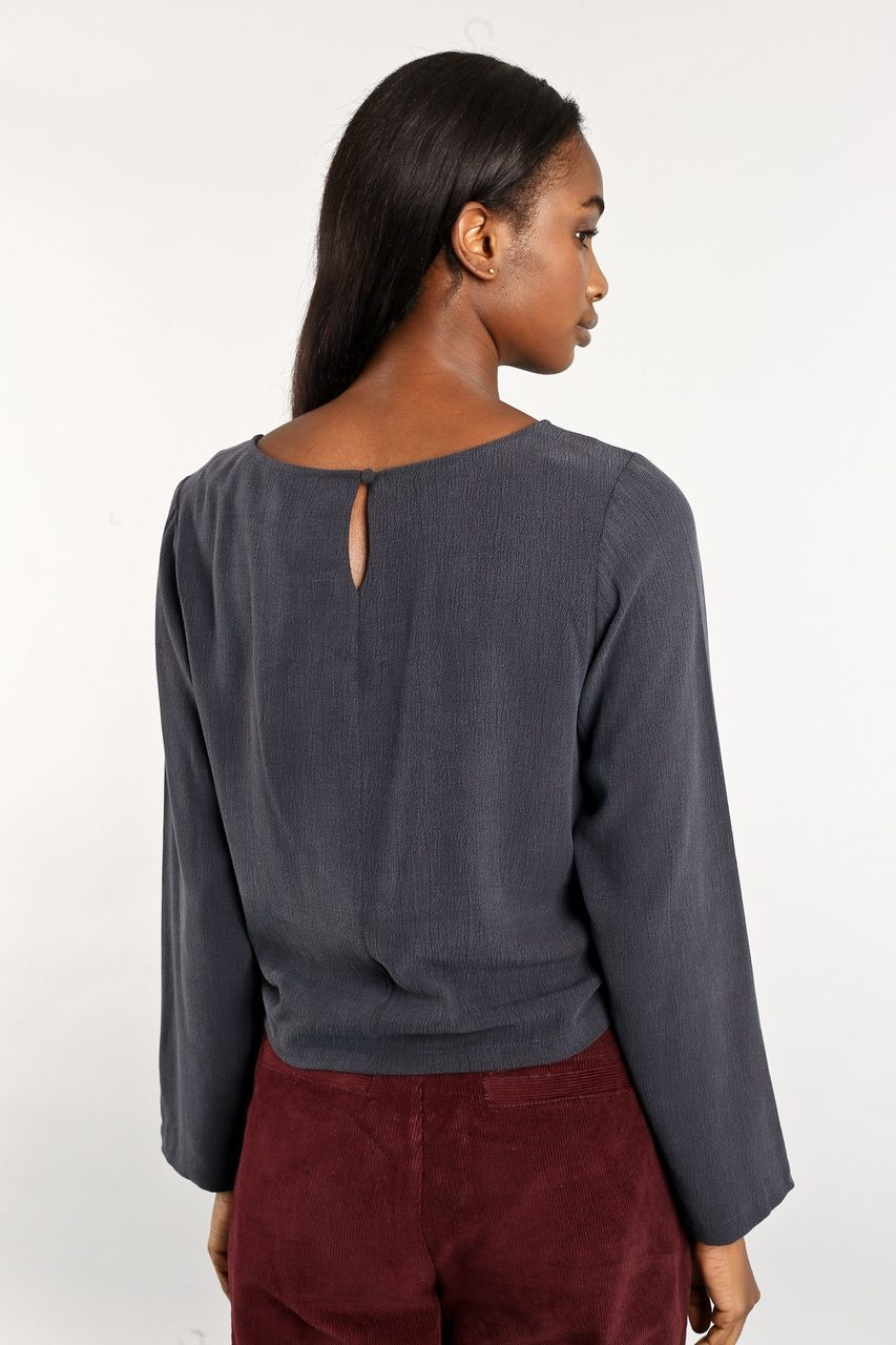 The Maya Crop With Front Adjustable Runching Detail