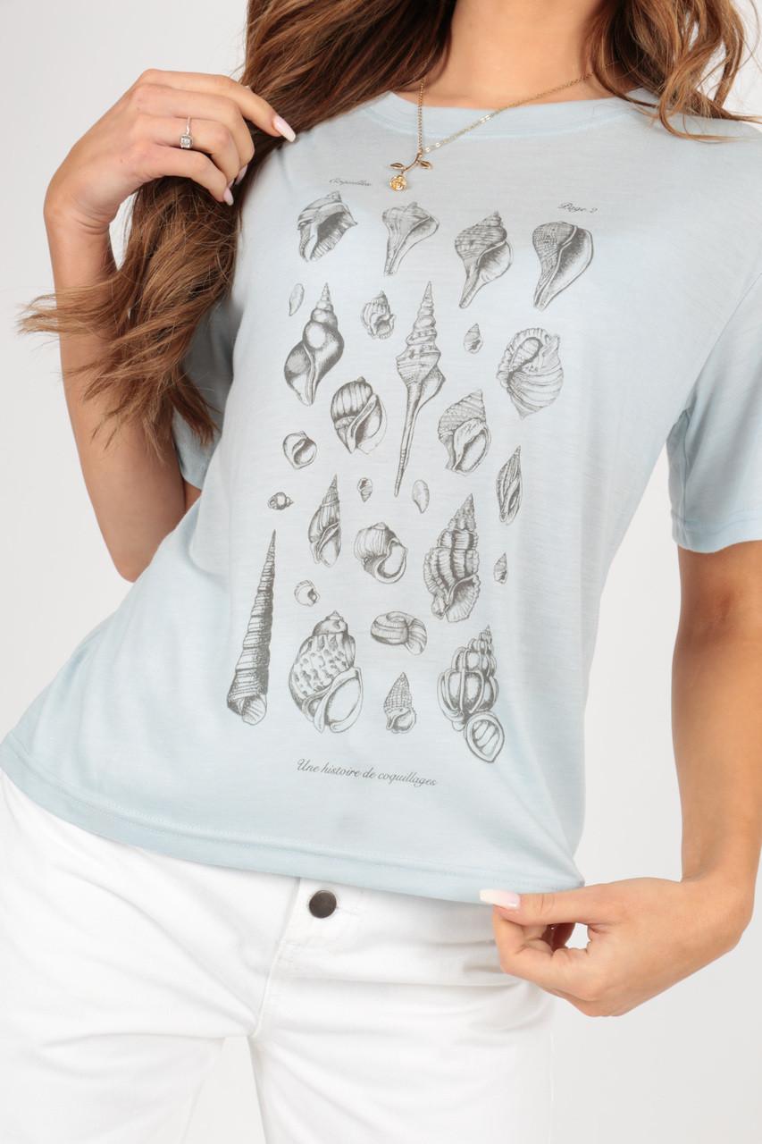 Seashell Print Tee