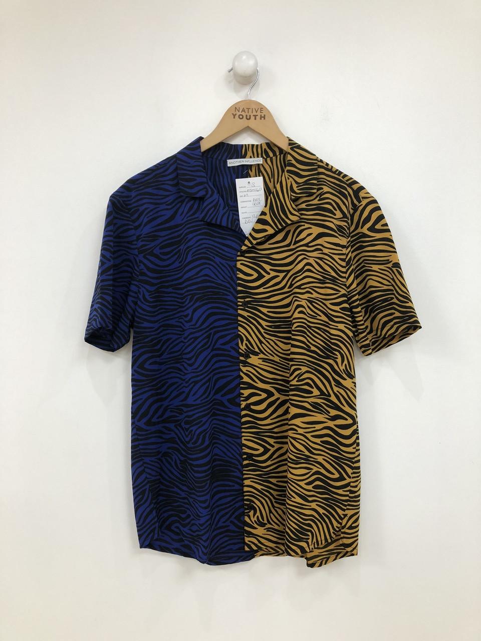 Spiced Zebra Print Long Sleeve Shirt