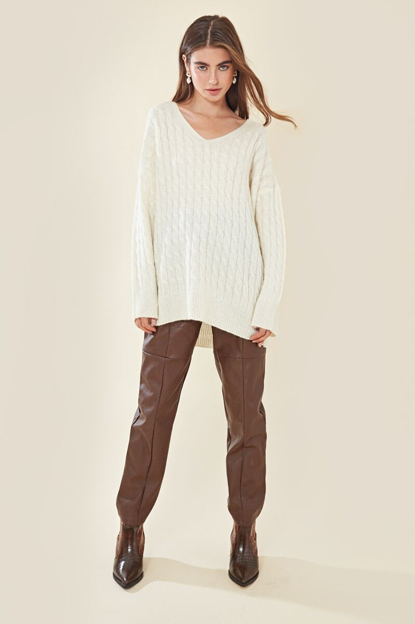 Relaxed Textured Knit Jumper