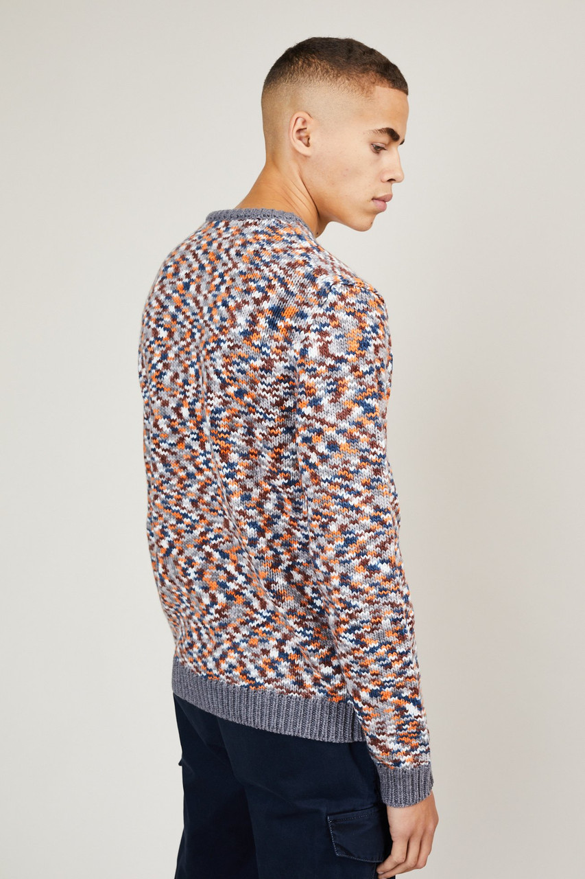 Native Youth Brown Chunky Knit Sweater
