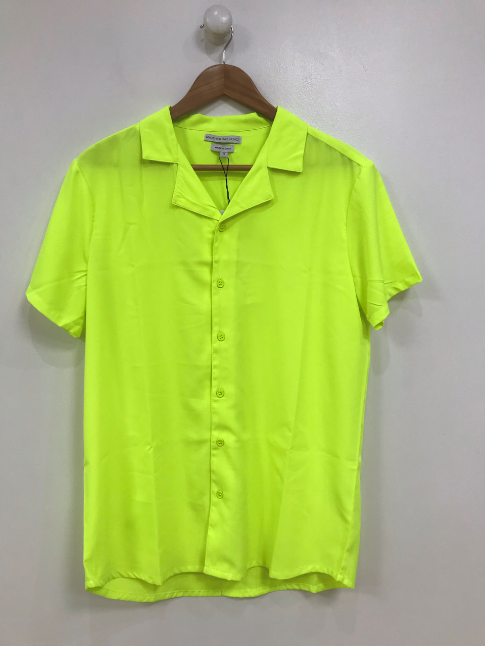 Ladies Neon Yellow Blouse