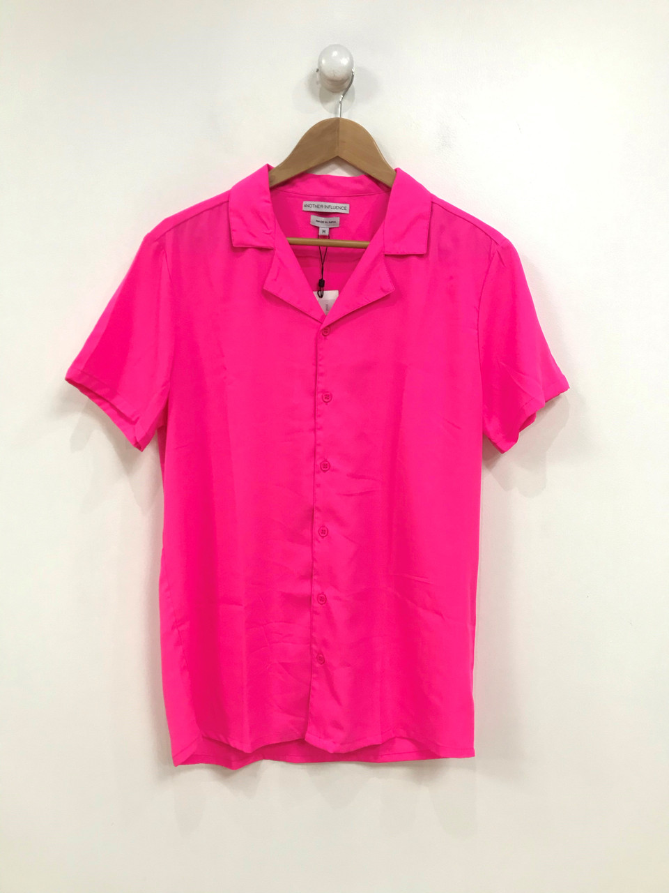 Ladies Neon Pink Blouse