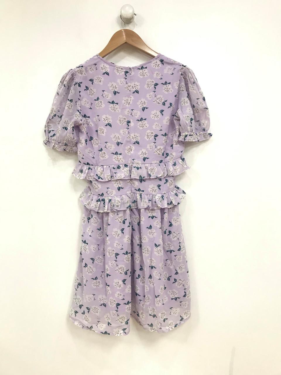 Lilac Ruffle Dress