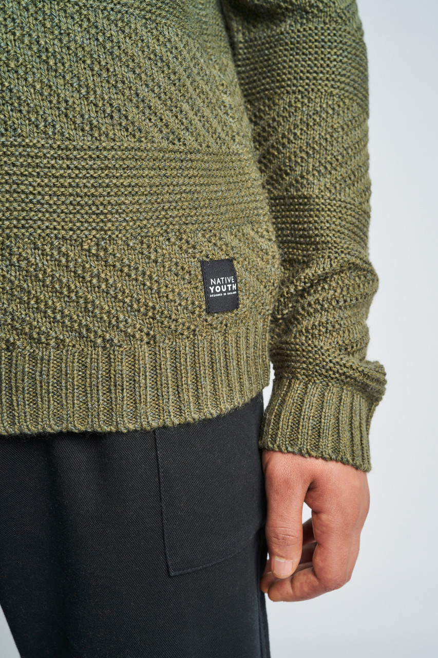 Kory Knitted Raised Striped Jumper