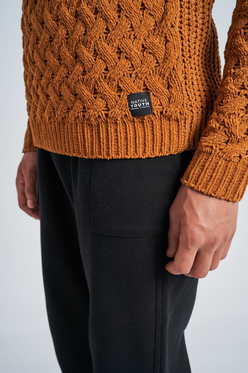 Mateo Basket Weave  Knit Jumper