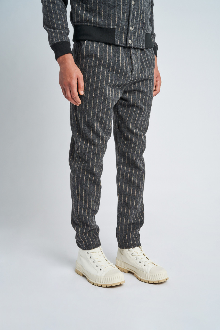 Ryker Wool Striped Trouser