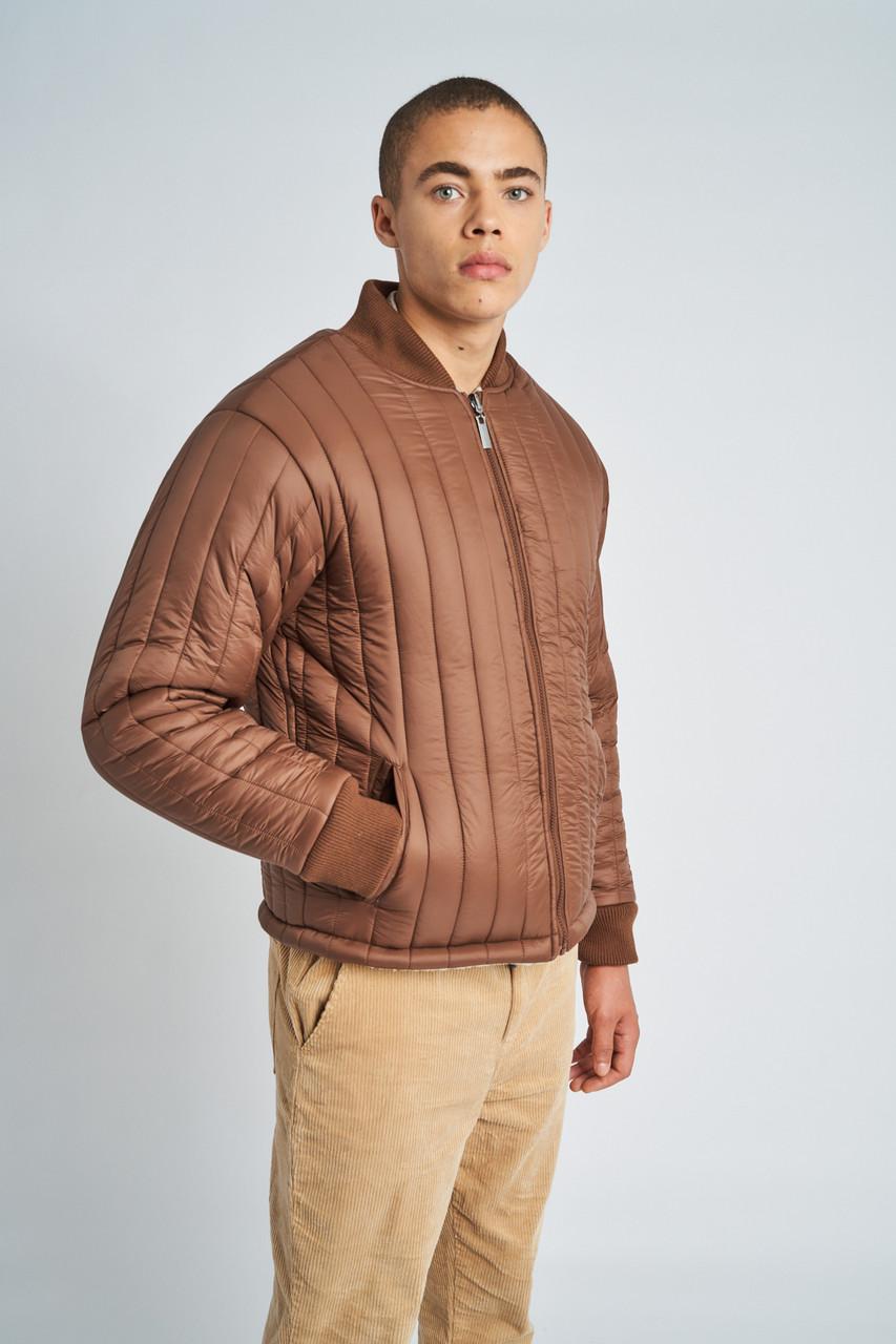 Wesley Reversible Vertical Puffer / Sherpa Jacket