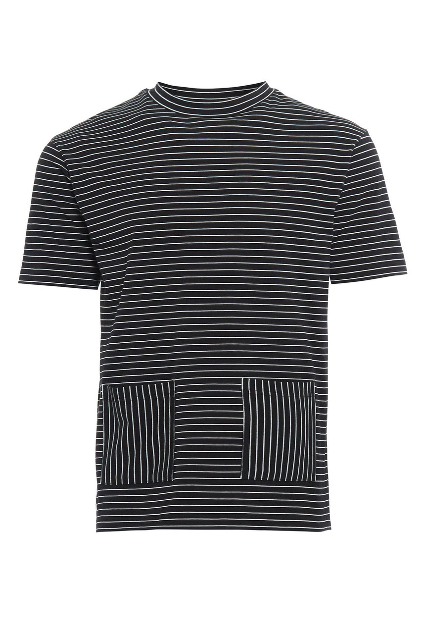 Black & White Over-Size Weekend Tee