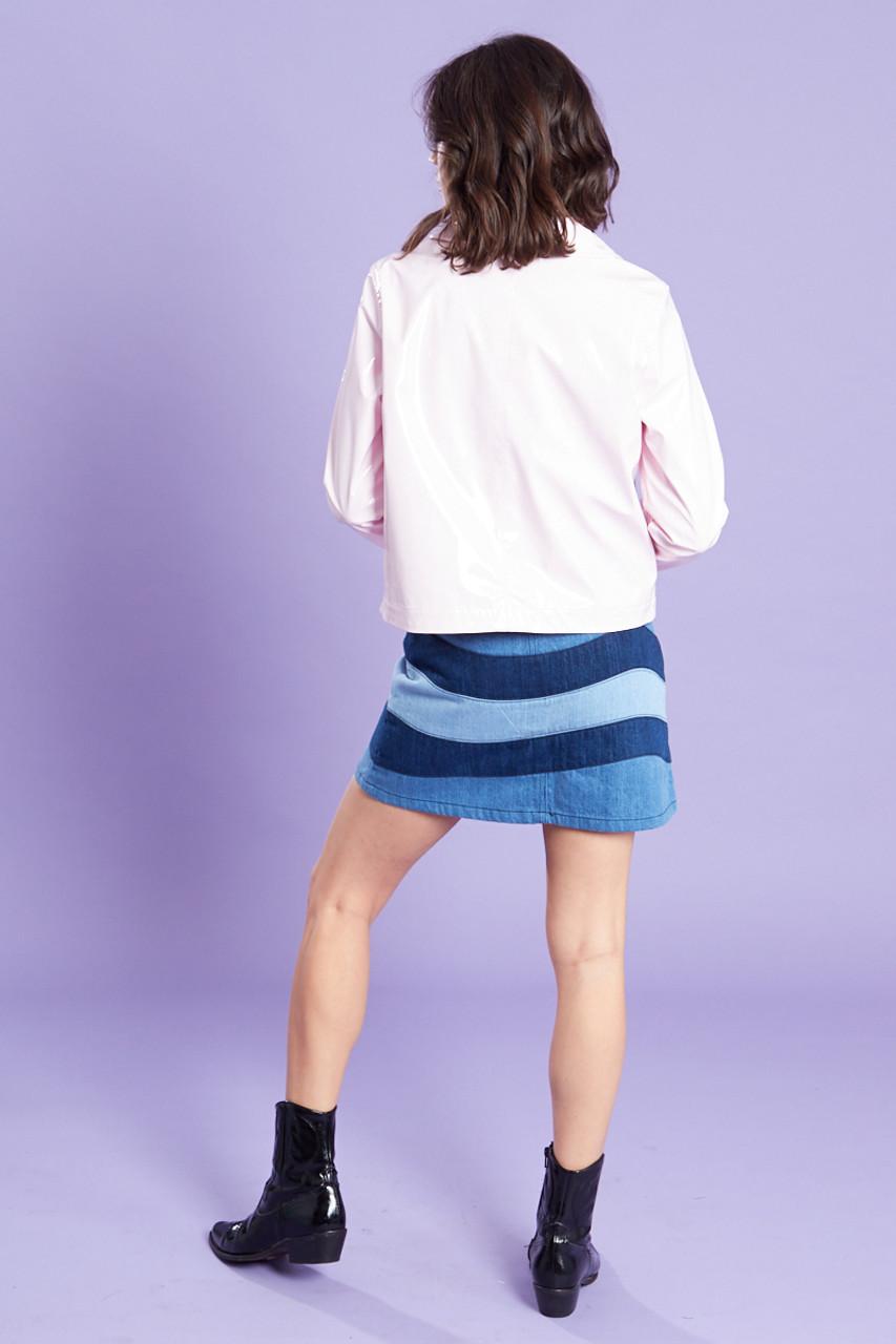 Pink Vinyl Jacket