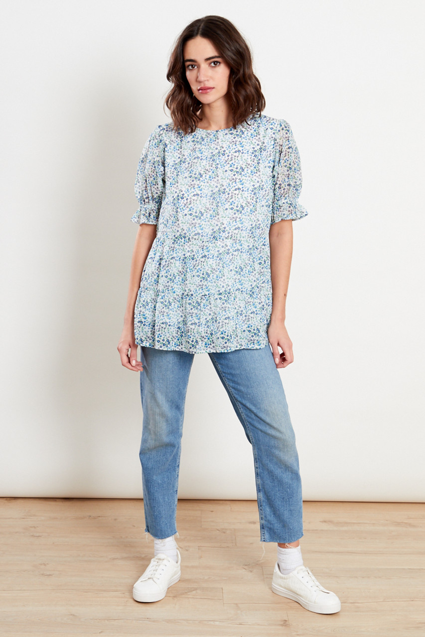 Multi Tiered Smock Top