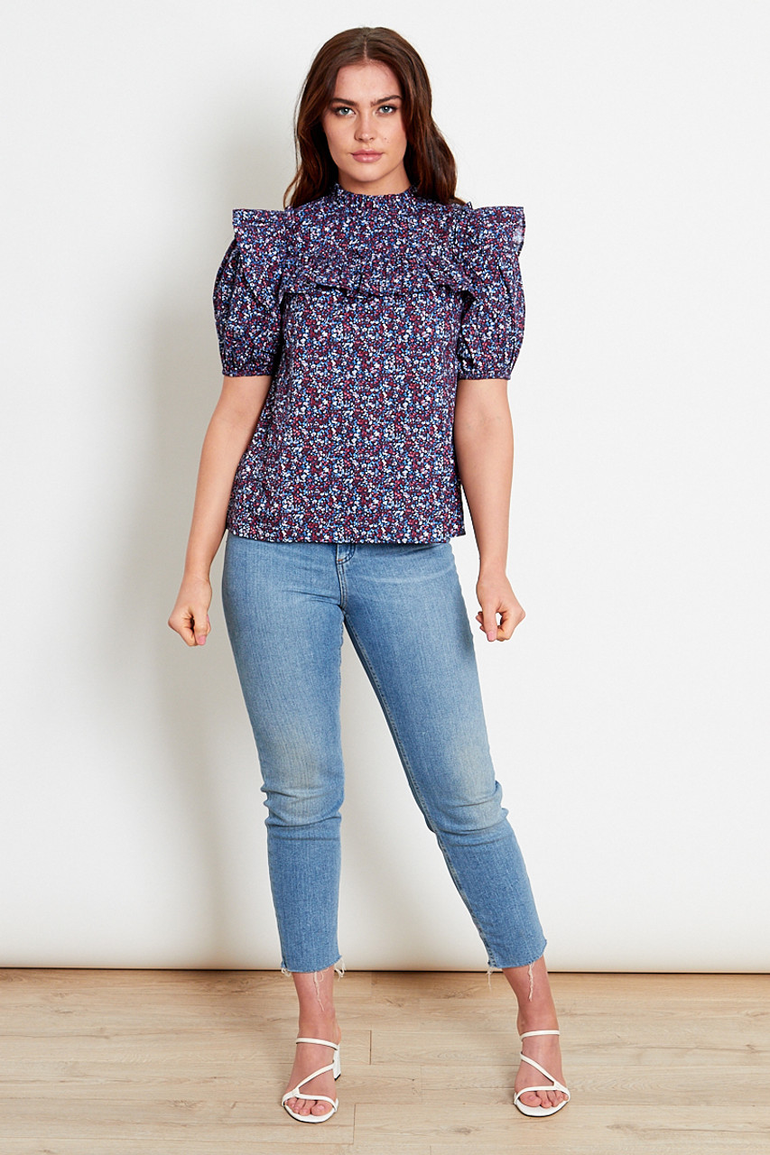 Ditsy Cotton Top