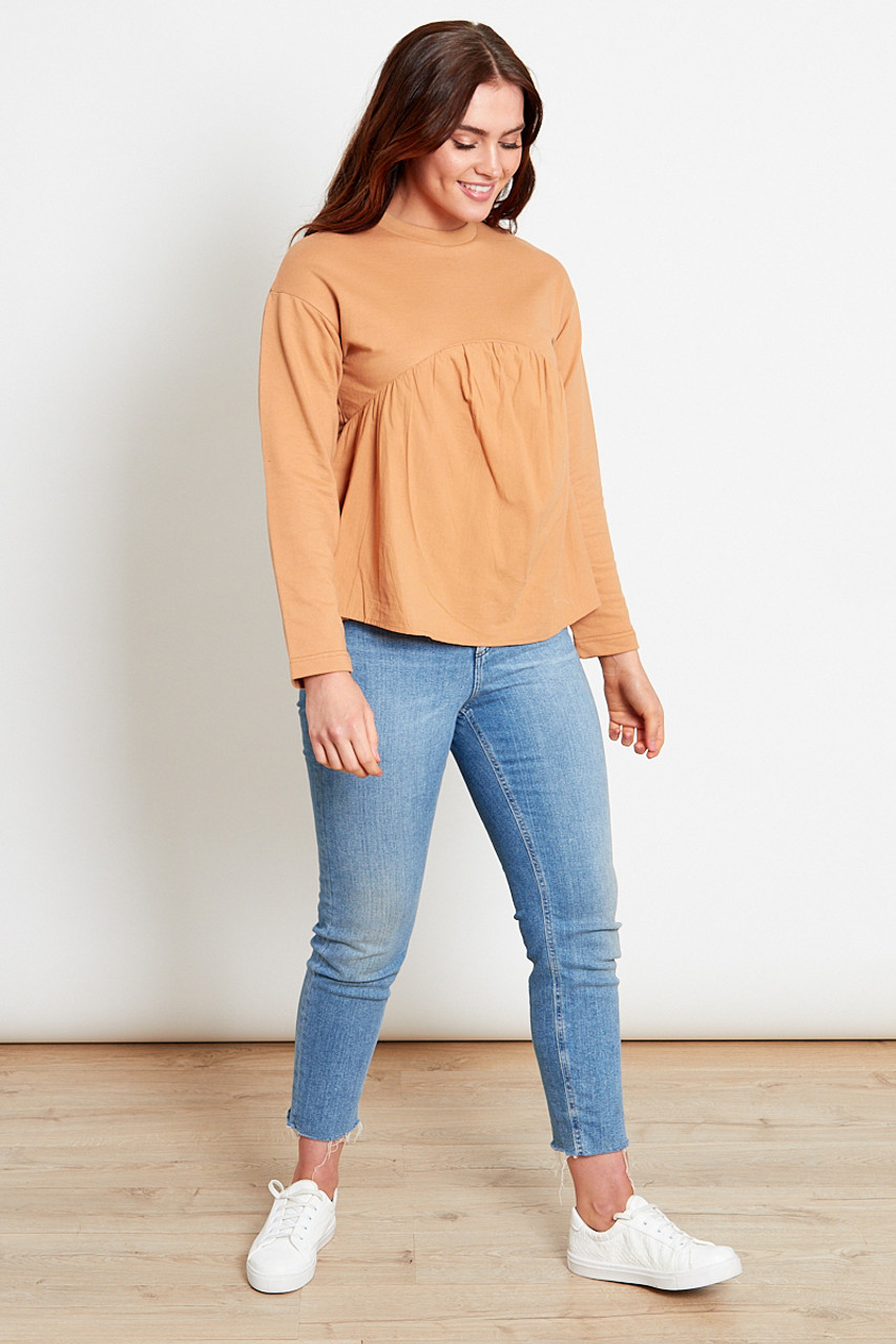 Jersey Smock Top