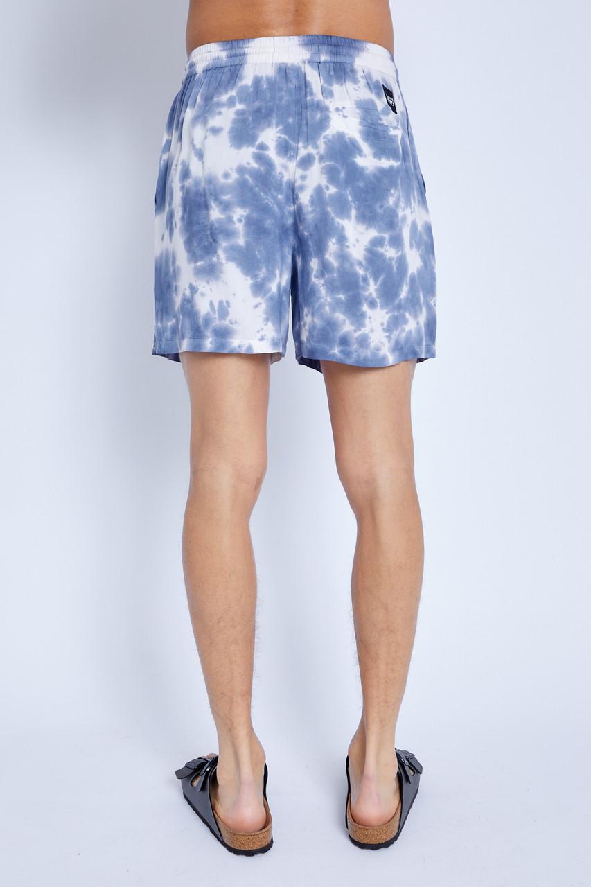 Shorts In Tie Dye Print