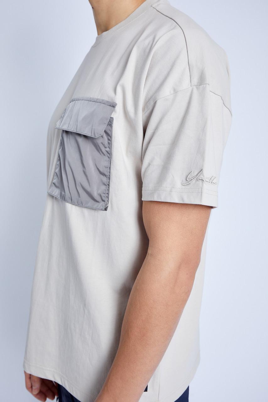S/S T-Shirt With Nylon Pocket