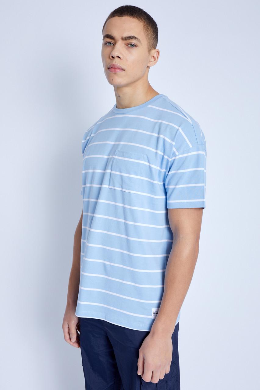 S/S T-Shirt In Stripe