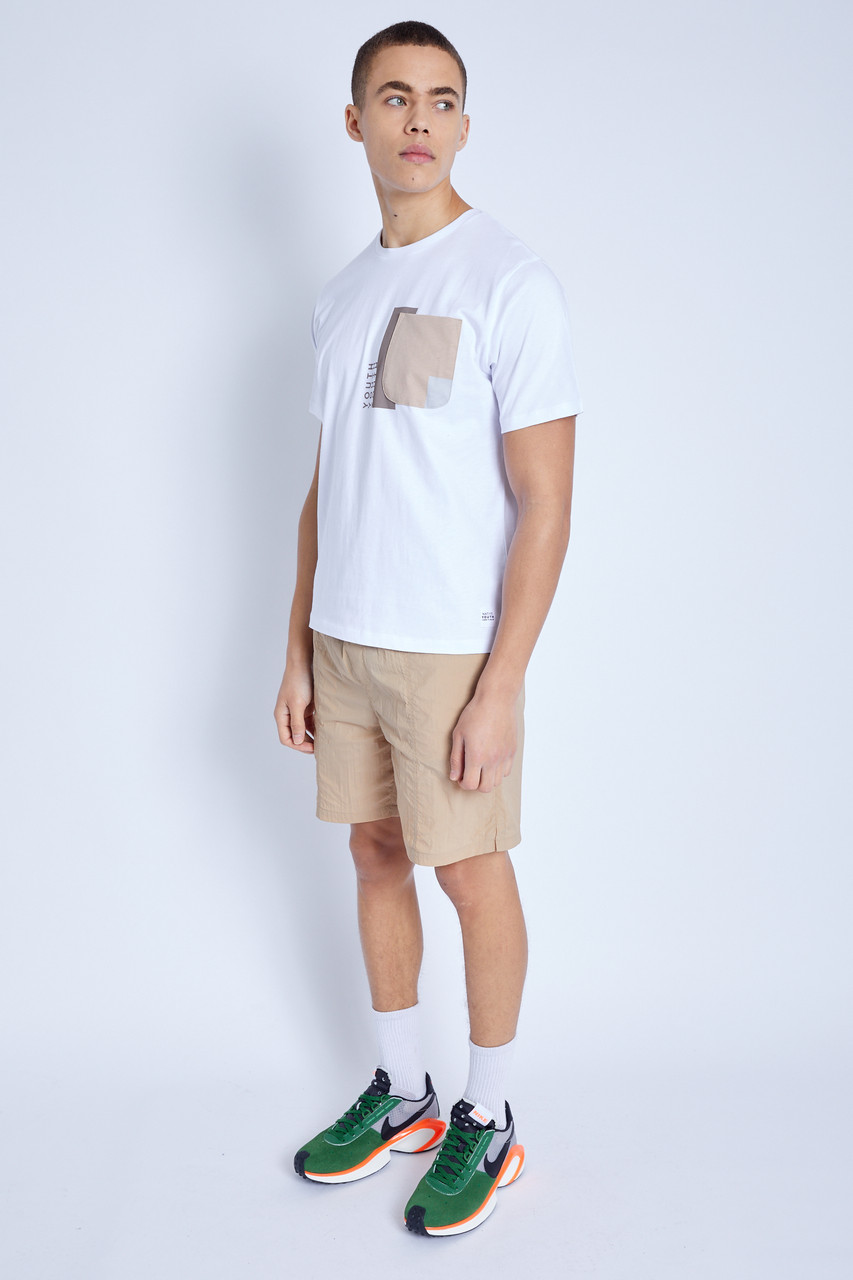 S/S T-Shirt With Pocket Detail