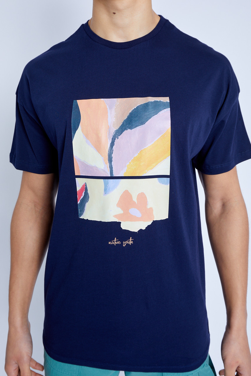 S/S Mimosa Graphic Print T-Shirt