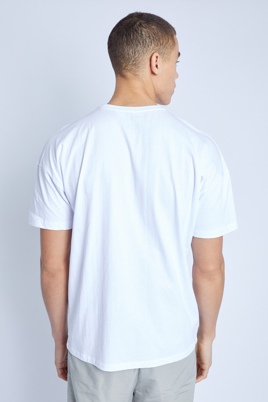 S/S T-Shirt With Provencal Graphic