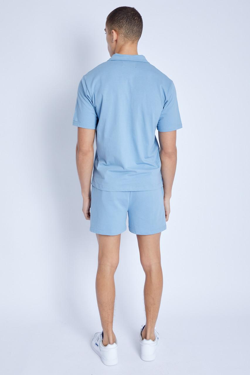 Kanuka Sky Blue Polo Shirt