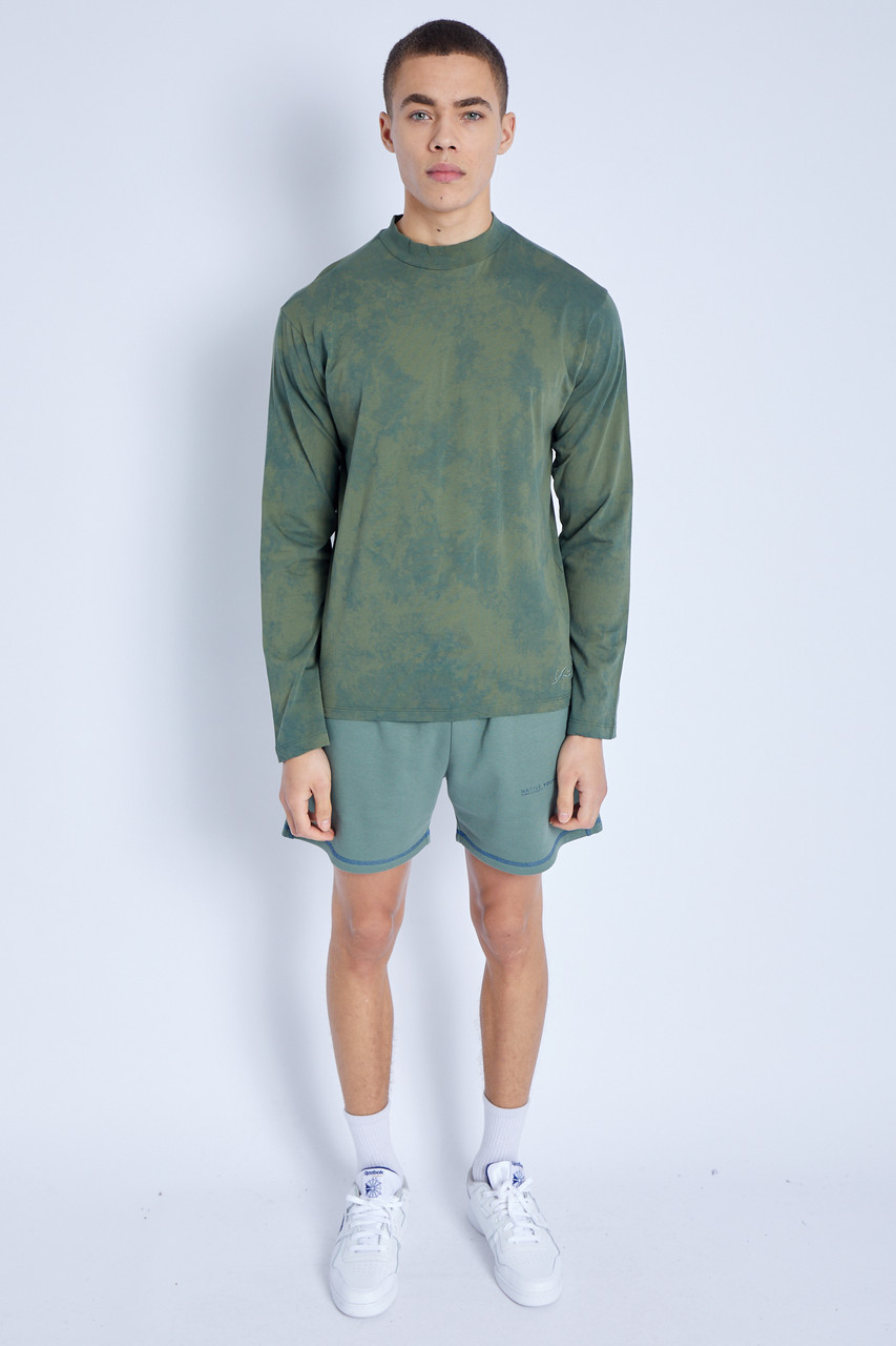 S/S T-Shirt In Ombre_Green