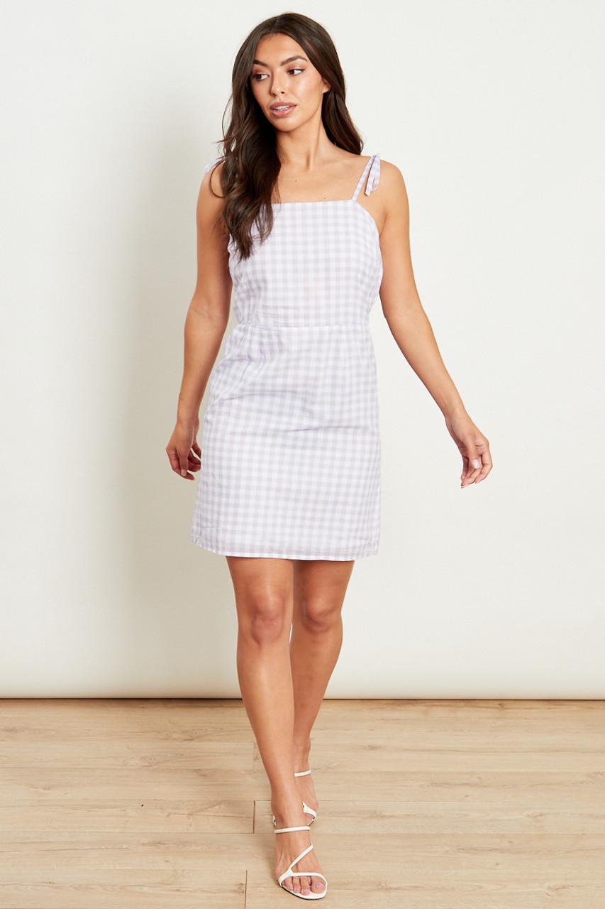 Tie Back Strappy Dress